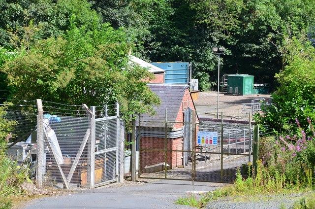 Sewage works, Newtown St Boswells