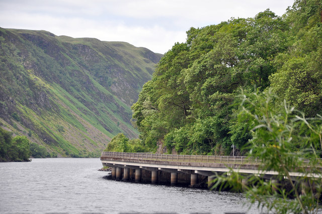 A85 and Loch Awe