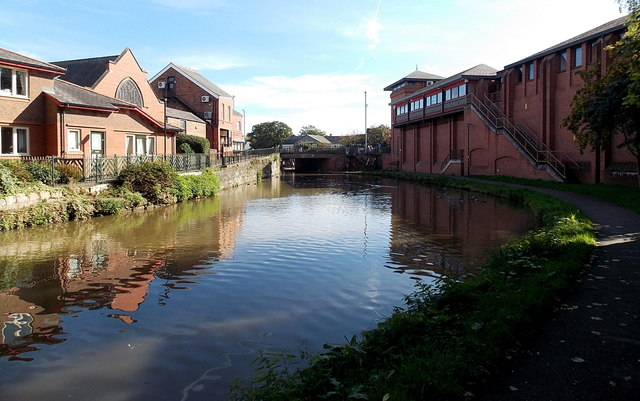 Canal towards Cow Lane Bridge, Chester