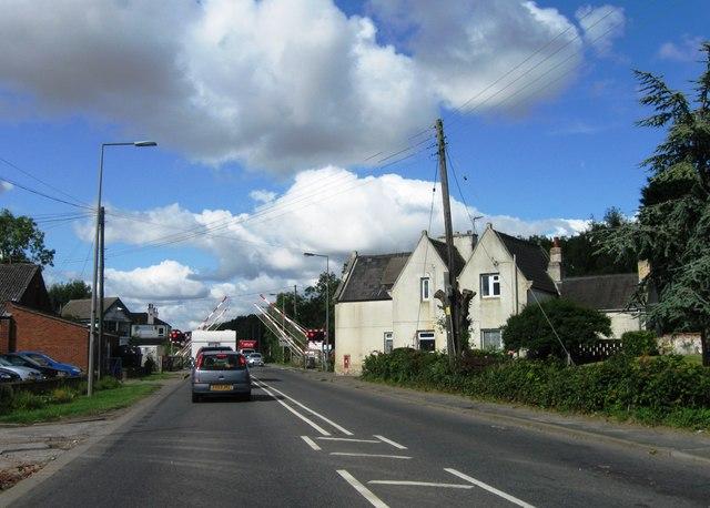 Langworth level crossing