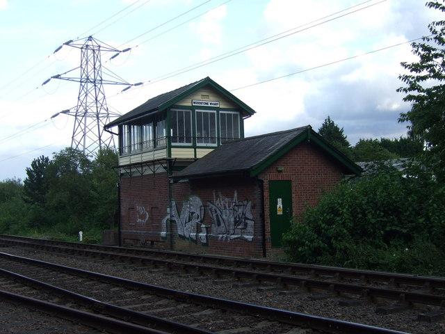 Woodstone Wharf signal box