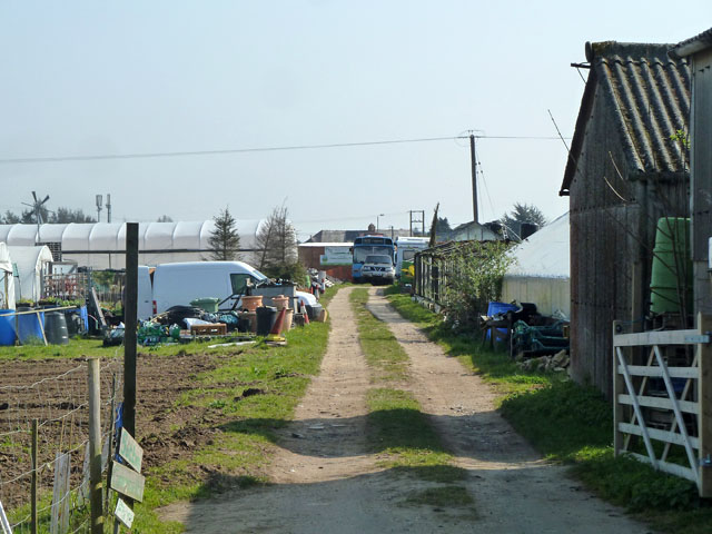 Sutton Community Farm, Little Woodcote Estate