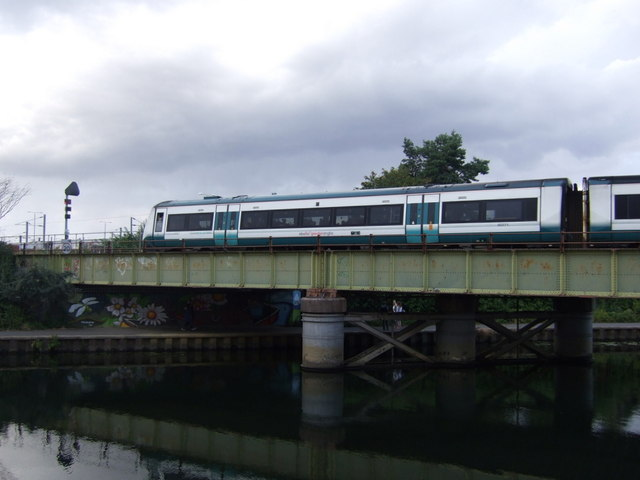 Railway bridge over the River Nene