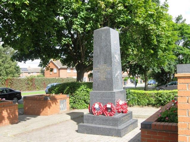 War memorial, Birchwood