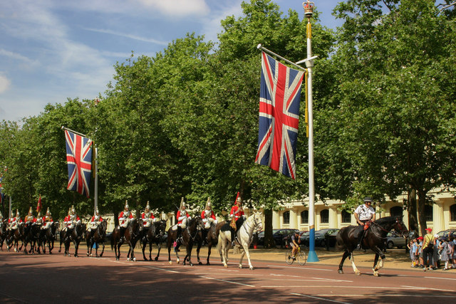 Horseguards on The Mall