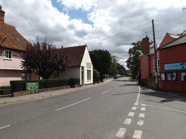 The Street, East Bergholt