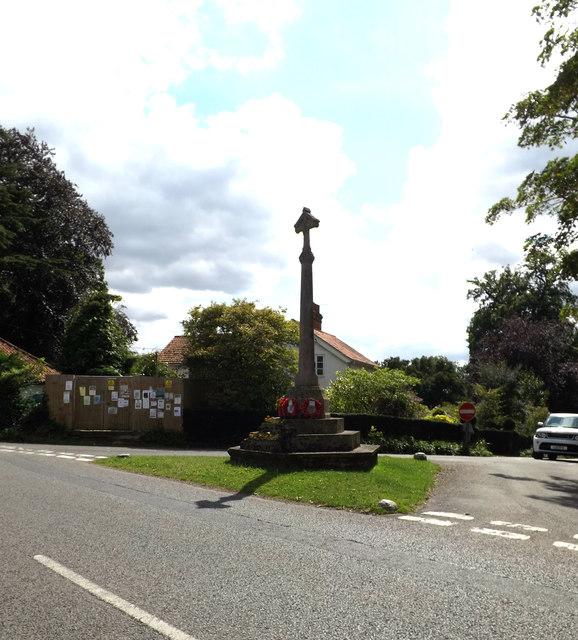 East Bergholt War Memorial