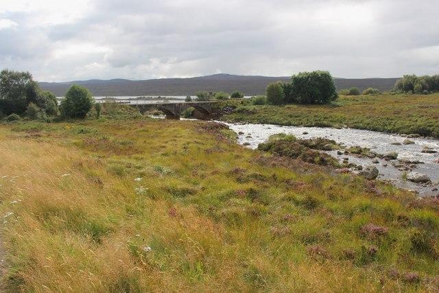 The River Fiag and Fiag Bridge