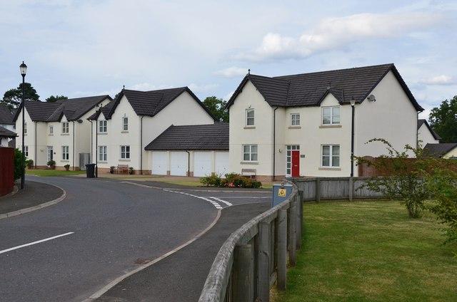 New houses, St Boswells