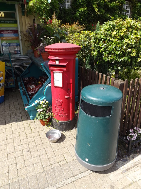 East Bergholt Post Office Postbox