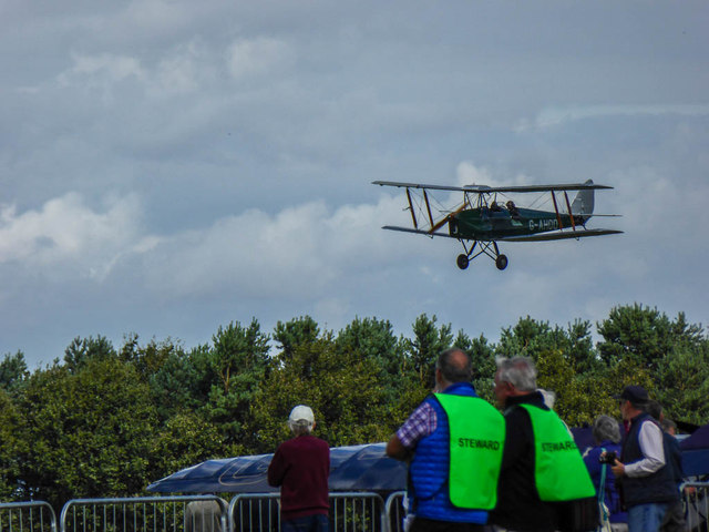 Tiger Moth Day at Woburn, Bedfordshire