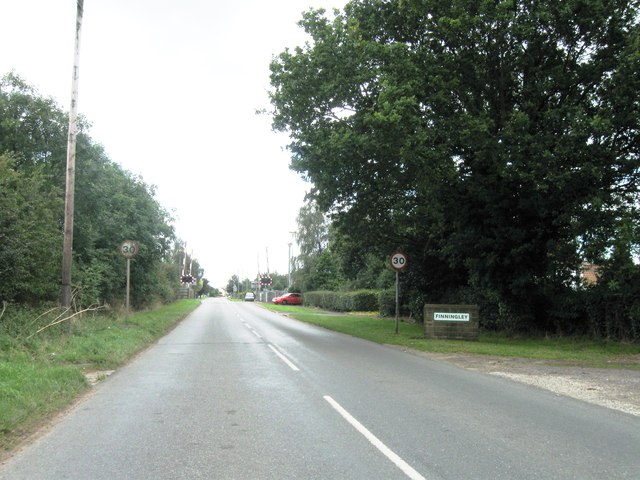 Entrance to Finningley