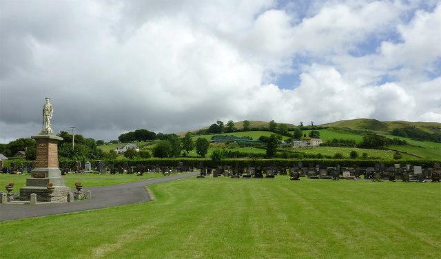 Cemetery at Llanddewi-Brefi, Ceredigion