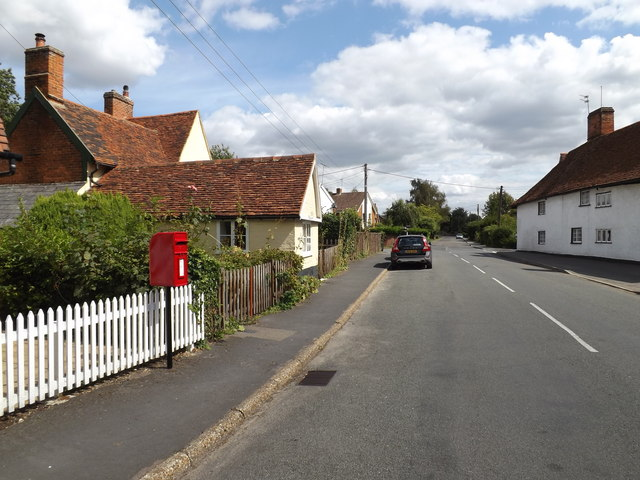 Rectory Hill & Burnt Oak Corner Postbox