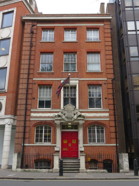 58 Buckingham Gate - former HQ of The Queen's Westminster Rifles,
