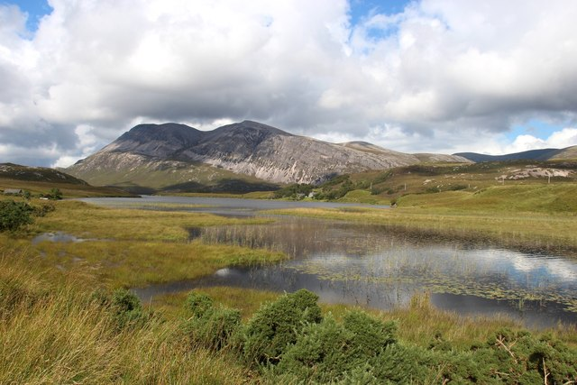 The head of Loch Stack and Arkle beyond