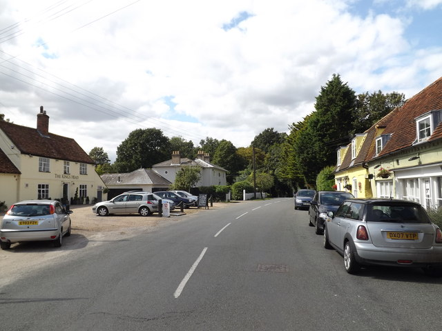 Rectory Hill, East Bergholt