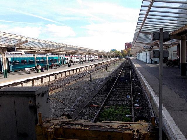 Platform 1, Chester railway station