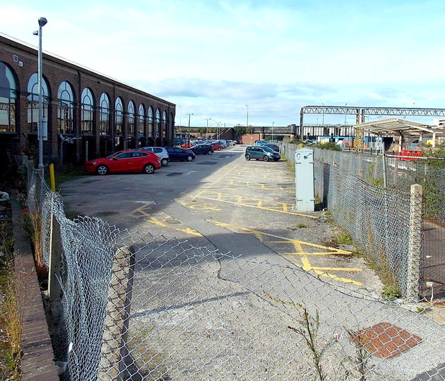 Chester railway station West Car Park