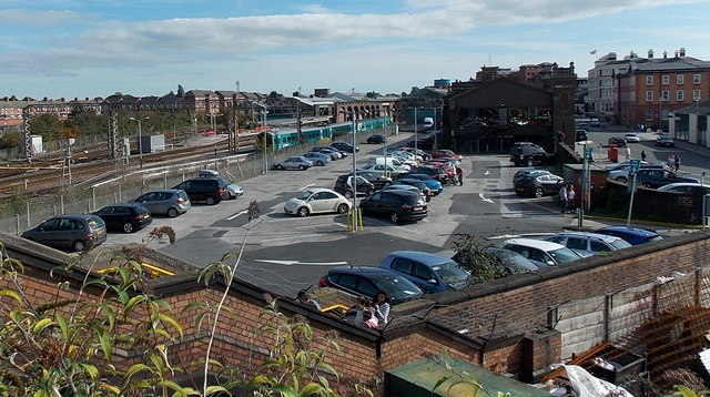 West Car Park, Chester railway station