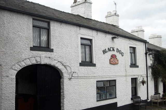 Black Dog, Rivington Road, Belmont, Lancashire