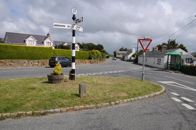 Road junction in Mynytho