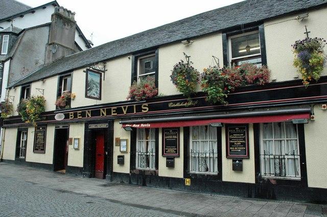Ben Nevis Pub, High Street, Fort William, Scotland