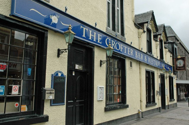 The Crofter Bar & Restaurant, High Street, Fort William, Scotland