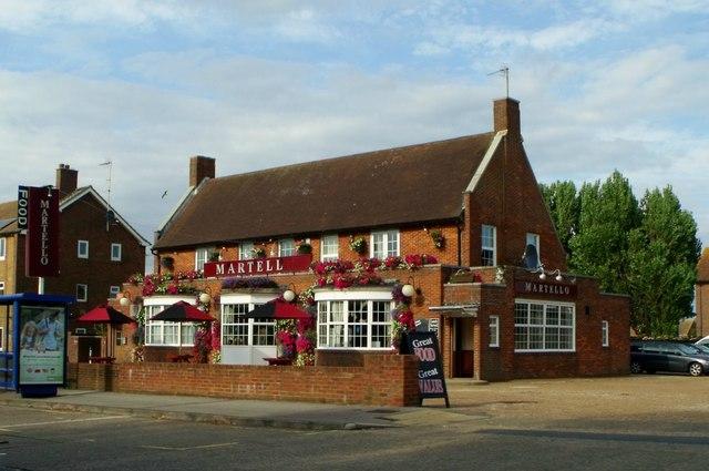 The Martello pub, Langney