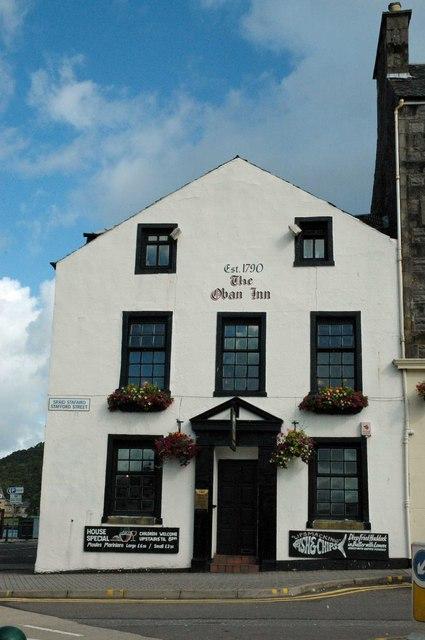The Oban Inn, Stafford Street, Oban, Scotland