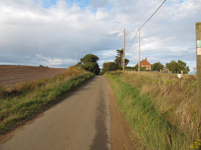 Ferry Road near Airey Cottages, Sudbourne