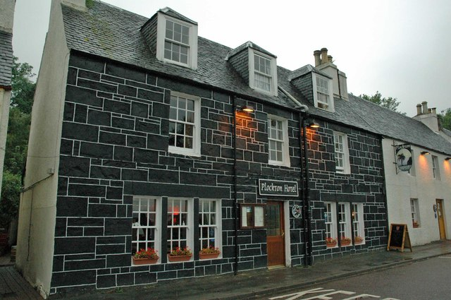 The Plockton Hotel, Harbour Street, Plockton, Scotland