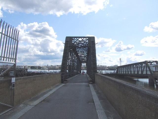 Bridge towards the Ferry Landing Stage, Tilbury