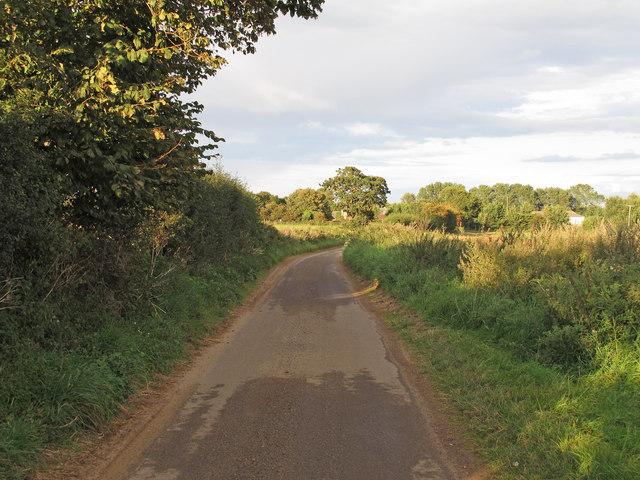 Ferry Road, near Ferry Farm, Sudbourne