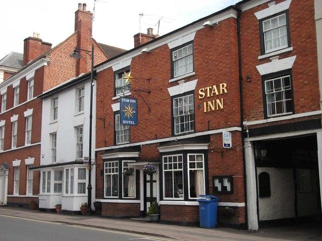 The Star Inn, Bridge Street, Pershore, Worcs