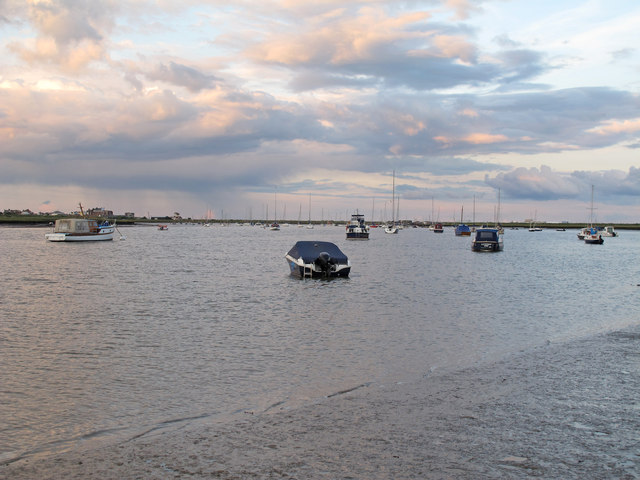 Looking over Westrow Reach, River Alde