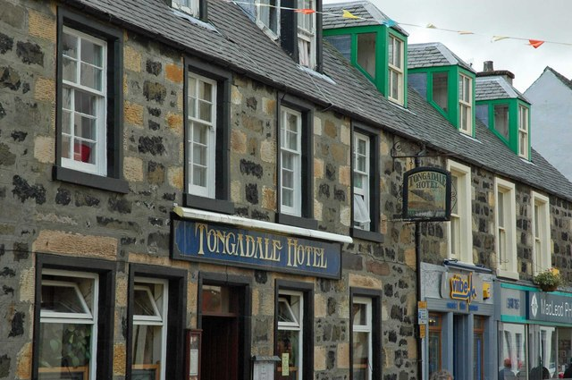 Tongadale Hotel, Wentworth Street, Portree, Scotland