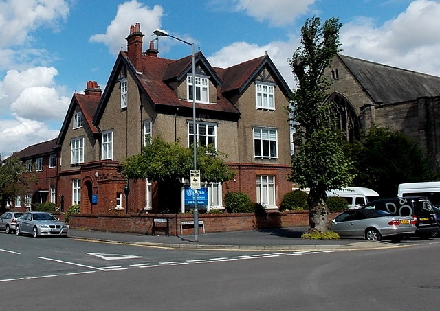 Corner of  Beauchamp Road and Beauchamp Avenue, Royal Leamington Spa