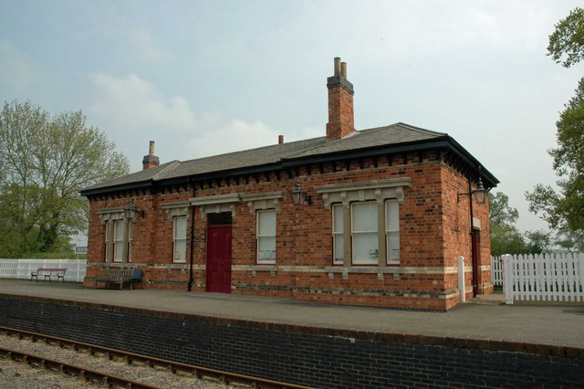Shenton Station on the Battlefield Line, near Bosworth