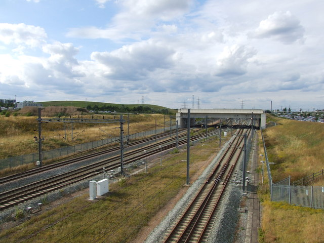 Channel Tunnel Rail Link, near Ebbsfleet