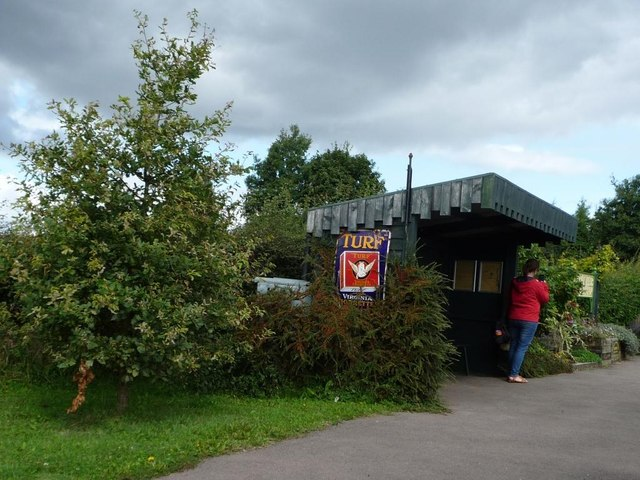 Evesham Vale Light Railway's smaller station