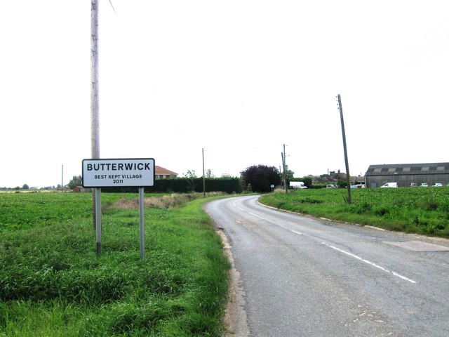 Entrance to Butterwick
