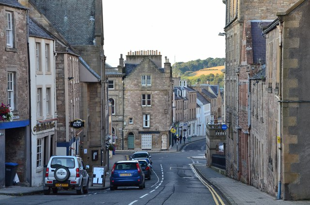 Castlegate, Jedburgh