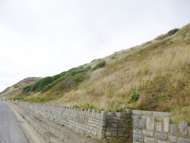Southbourne, cliff