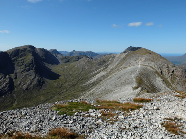East end of the Beinn Liath Mhòr ridge