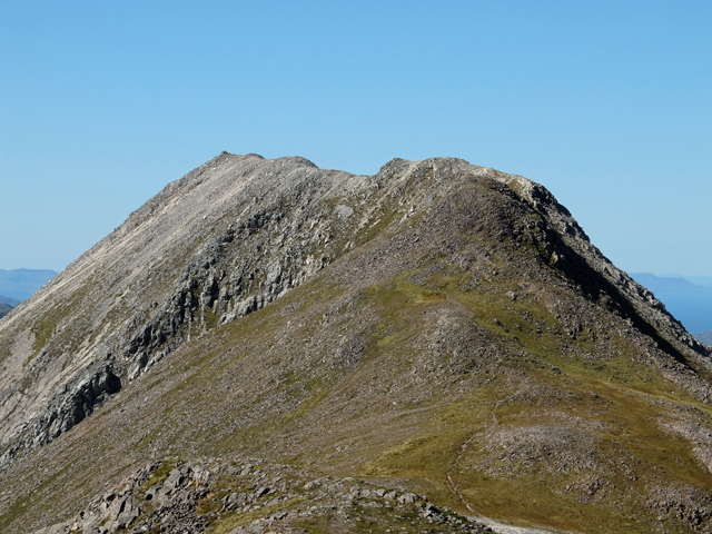 The western section of the Beinn Liath Mhòr ridge