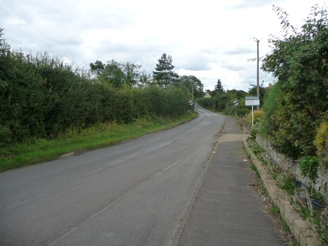 The road south out of Badsey