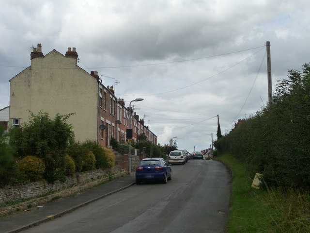 Houses on the west side of Chapel Street, Badsey