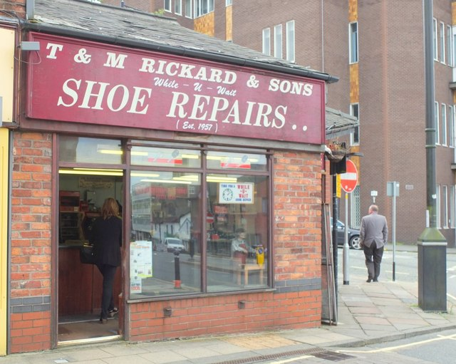 T & M Rickard and Sons Shoe Repairs, Wigan