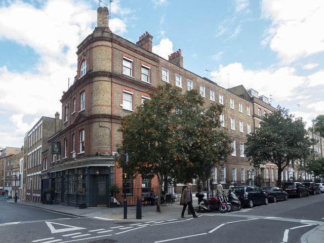 The Lady Ottoline Corner of John Street, London WC1